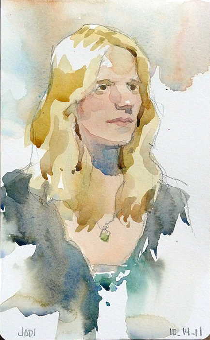 "5"" x 8"" Moleskine watercolor sketchbook"