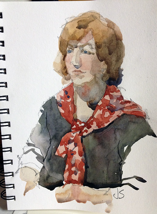 Stillman and Birn Watercolor Sketchbook