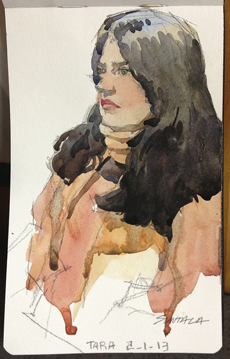 "Moleskine 5"" x 8"" Watercolor Sketchbook"