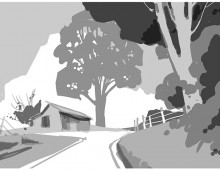 Backroads of Ohio Value Study